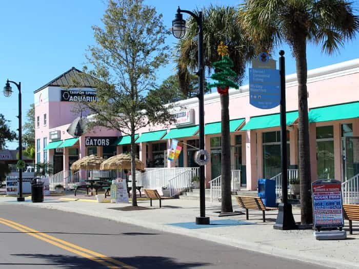 tarpon springs downtown