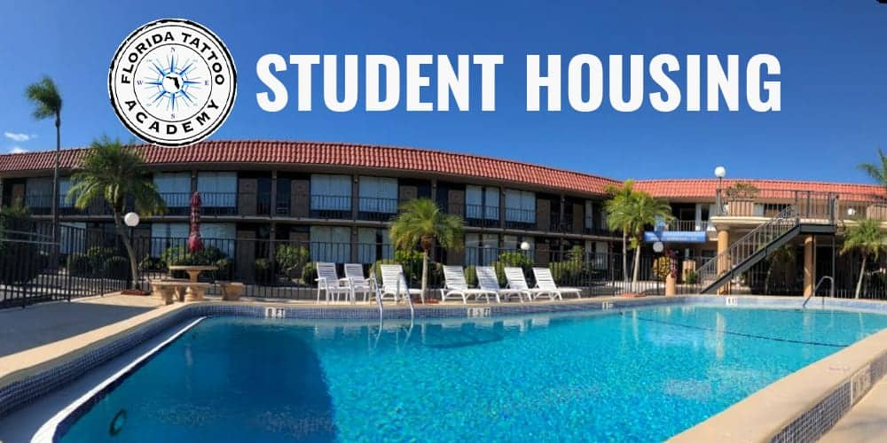 florida tattoo academy student housing