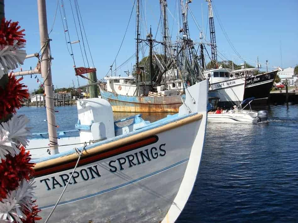 tarpon springs boats