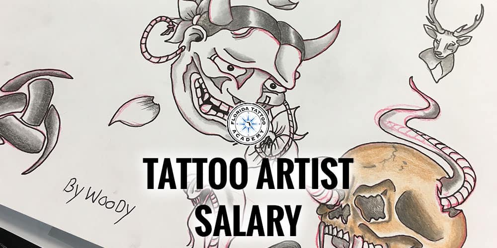 tattoo artist salary